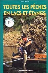 Toutes les pêches en étangs et plans d'eau