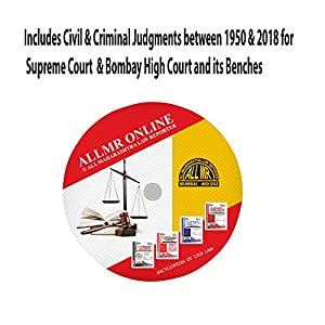 DVD and dongle for Judgments of Supreme Court and Bombay High Court & its Benches – Aurangabad, Nagpur and Goa (Civil and Criminal) – 1950 To 2018