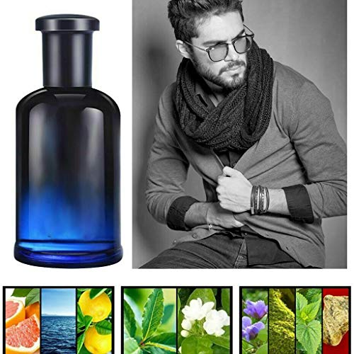 Luccase 50ML Blume Fragrance Body Spray Tragbar Blau Körperöl Spray Parfum Ätherisches Öl Sexy für Mann Frauen
