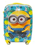 #10: EXCLUSIVE FASHION LUGGAGE Polycarbonate 18inch Multicolour 360 Degree Rotating Printed Pattern Non-Breakable Minions Boy's Bag