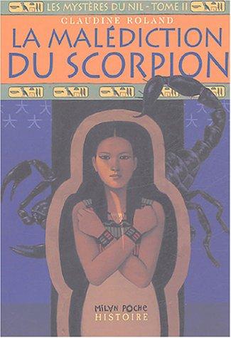 Les mystères du Nil, Tome 2 : La malédiction du scorpion