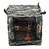 Bigsweety Camouflage Target Box Portable Target Case Bag Multifunctional Folding Target Box