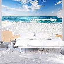 murando® Fotomural 400x280 cm ! Papel tejido-no tejido. Fotomurales - Papel pintado 400x280 cm - playa mar naturaleza c-B-0035-a-a