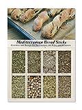 Feuer & Glas Mediterranean Bread Sticks/ Filone di pane con formaggio ed erbe aromatiche, spezie, ricetta & lista della spesa, 30g