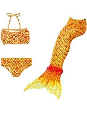 [Sponsorizzato]DecStore Costume stabilito del bikini dello Swimwear della coda della sirena del costume da bagno delle 3PCS delle...