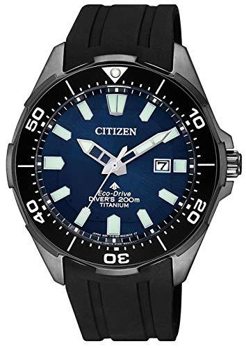 Citizen Herren Analog Quarz Uhr mit Plastik Armband BN0205-10L