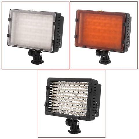 CN-160 - Lámpara de 160 LED para cámaras de fotos réflex digitales Canon, Nikon, Pentax, Panasonic,SONY, Samsung y