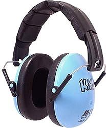 Edz Kidz Kinder Gehörschutz Kapselgehörschutz (Hellblau)