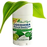 Skin2Spirit Natural Cocoshea Deodorant - FRESH COCONUT & LIME - Effective - NON Toxic - ALUMINUM FREE - Great...