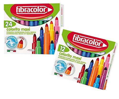fibracolor-colorito-maxi-broad-point-fiber-colouring-pens-super-washable-pack-of-24-plus-free-pack-o