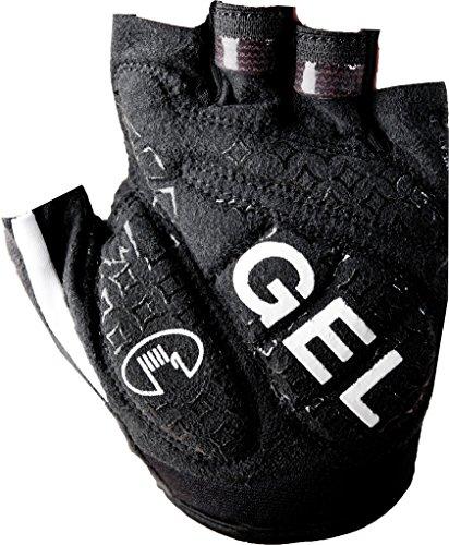 ROECKL gants de cyclisme Drena Noir - col.009 schwarz/weiß