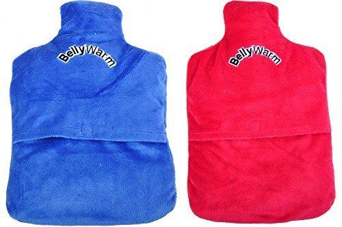 keine Angabe Pedi-BellyWarm Körner-Wärmflasche Körnerkissen Wärmekissen Kältekissen Therapie, Farbe:blau - Pedi Hausschuhe