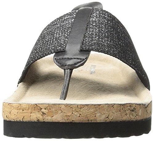 Skechers Cali Granola Shimmer schicke Flip Flop Black