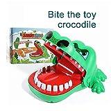 Zorara Kroko Doc Krokodil Zahn Spiel ,Spielbiss-Fingerspielzeug Der Kinder, Verwendbar Für Geschenke Der Kinder (Grün)
