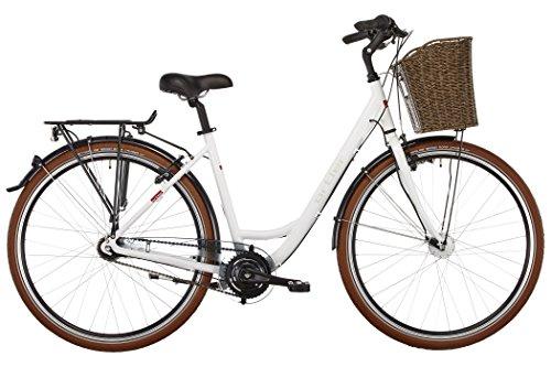 Ortler Monet Damen weiß glanz Rahmengröße 55 cm 2017 Cityrad