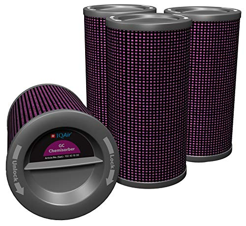 IQAir GC ChemiSorber Filterpatronen Set - Ersatzfilter für den IQAir GC ChemiSorber Luftreiniger