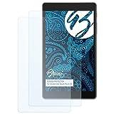 Bruni Schutzfolie für Alcatel One Touch Pixi 4 (7) Folie - 2 x glasklare Displayschutzfolie