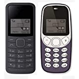 I KALL 1.44 Inch Feature Phone Combo - K73 (Black) And K71 (Dark Blue)