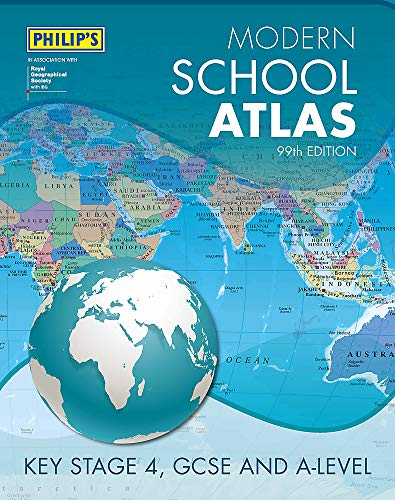 Philip's Modern School Atlas 99th Edition (Philips School Atlas)