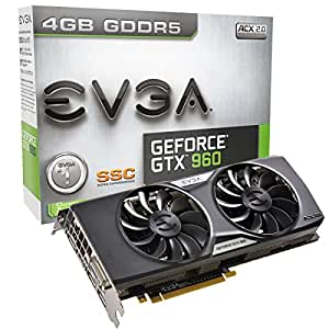 EVGA 04G-P4-3966-KR NVIDIA GeForce GTX 960 4GB Scheda video
