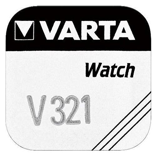 ACCUPOWER Pile oxyde argent pour montres V321 (SR65) 1,55 Volt