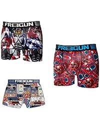 Lot 3 boxers Freegun Enfant Modèle de la Photo