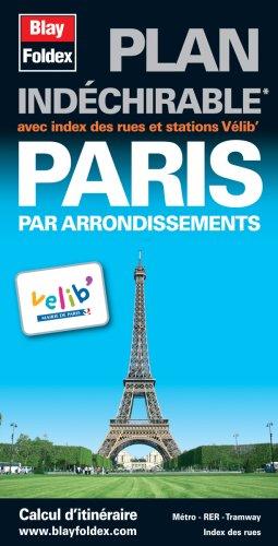 Plan De Paris Avec Index Des Rues [Pdf/ePub] eBook