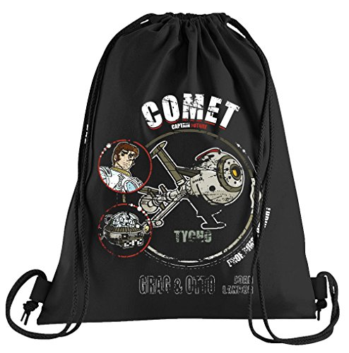 Comet Tycho Sportbeutel – Bedruckter Beutel – Eine schöne Sport-Tasche Beutel mit Kordeln