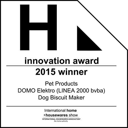 51WAmEltNKL - Domo DO9068HK Dog Cookie Maker, 900 W, Red