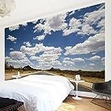 Apalis Vliestapete Route 66 Fototapete Breit | Vlies Tapete Wandtapete Wandbild Foto 3D Fototapete für Schlafzimmer Wohnzimmer Küche | blau, 94786