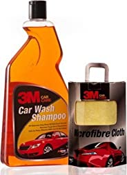 3M Combo of Shampoo (1 L) and Microfiber Cloth (CM-237)