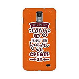 Mobicture Create It Premium Printed High Quality Polycarbonate Hard Back Case Cover for Samsung S2 With Edge to Edge Printing