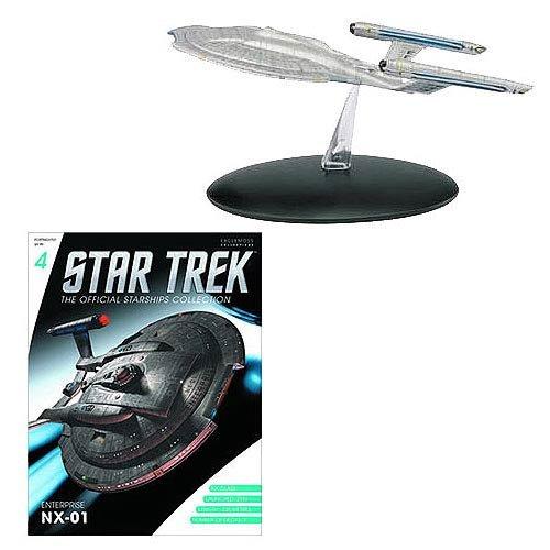 Star Trek Official Starships Collection #4: Enterprise NX-01 (Spaceship & Magazine), englisch