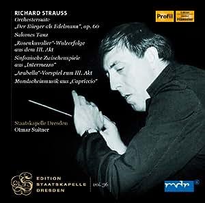 Strauss: Dresden Vol.36 [Otmar Suitner, Dresden Staatskapelle] [Profil: PH12018]