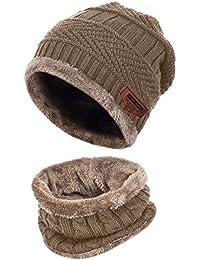 Amazon.it  scaldacollo - Berretti in maglia   Cappelli e cappellini ... 0480e0fb6acb