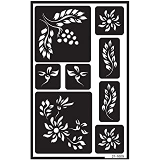 Armour Products Over ' N' Over Reusable Stencils 5-inch x 8-inchBerries