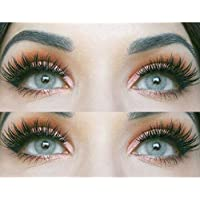 Glamlens lentilles de couleur grises naturelles colorées très haute opacité Jasmine Gray + étuis à lentilles de contact…