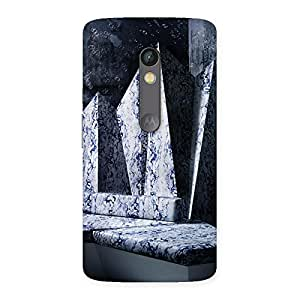 Marbal Sculpture Back Case Cover for Moto X Play