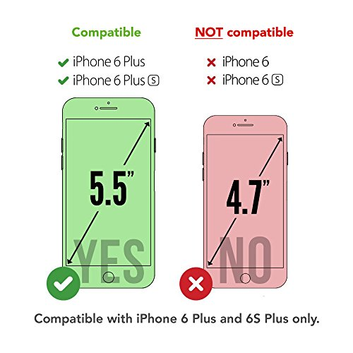 5.5 iPhone 6 Plus 6S Plus SGSELLER TPU Slim Fit Ultra Dünn Stoßfest Anti-Kratz Anti-Fingerabdruck Matt Schutzhülle Gehäuse, Plastik, Einfarbig (Qualle) Watercolour (Pink)