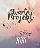 Das WortProjekt. Der Bibel-Lettering-Postkartenkalender 2020: Das WortProjekt -