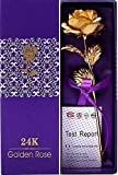Best Golden - Lavanaya Silver Certified 24 Kt Golden Rose 10 Review