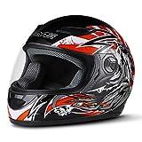 Motorradhelm Herren Integralhelm Helm Atmungsaktiv Komfort Material Reiten Motorradhelm Helm...