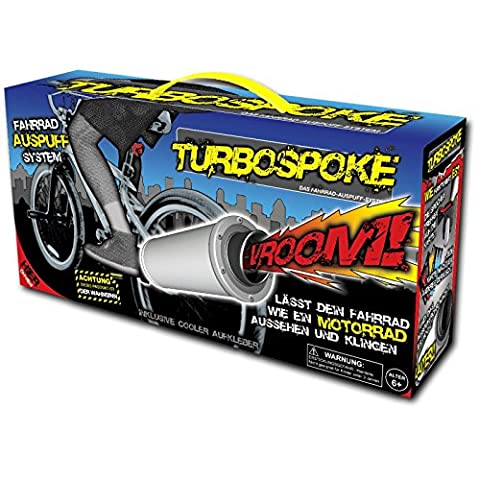 Bicycle Turbine Exhaust Pipe Motorcycle Exhaust Sound for Turbospoke