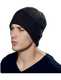 0bbf83c2070b96 Kenmont Winter Men Male Knit Wool Acrylic Outdoor Ski Hat Beanie Cap