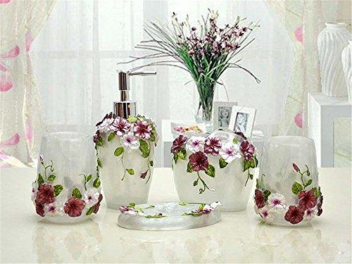 MIAORUI résine de décorations artisanales pour cinq pièce / laver ornements