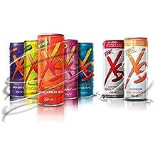 Pack Sabores bebida energética XS Power Drink - 12 latas de 7 sabores.