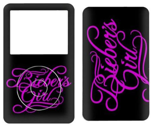 MusicSkins Justin Bieber Bieber's Girl Schutzfolie für iPod Classic 80/120/160GB (Justin Bieber Ipod)