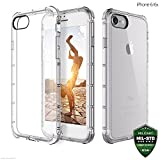 #2: ZAAP®(USA) Defender iPhone 6/6S Case, Shock-Absorbing protective {Award-winning Tech.} Transparent case /cover+ TPU bumper for iphone 6/6S( Transparent/Clear)