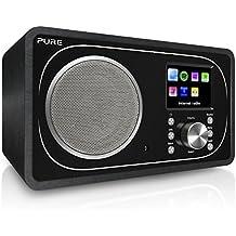 Pure Evoke F3 DAB/DAB+ Radio (UKW, WLAN, Internetradio, Bluetooth, inkl. Fernbedienung) schwarz