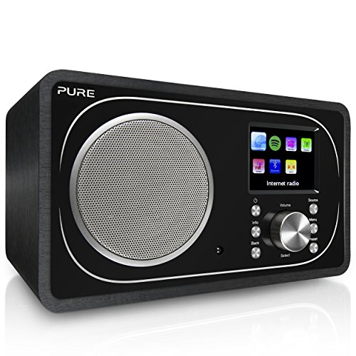 Pure Evoke F3 Internet DAB/DAB+ Digital and FM Radio, Internet Radio/Digital Radio with Spotify Connect and Bluetooth…